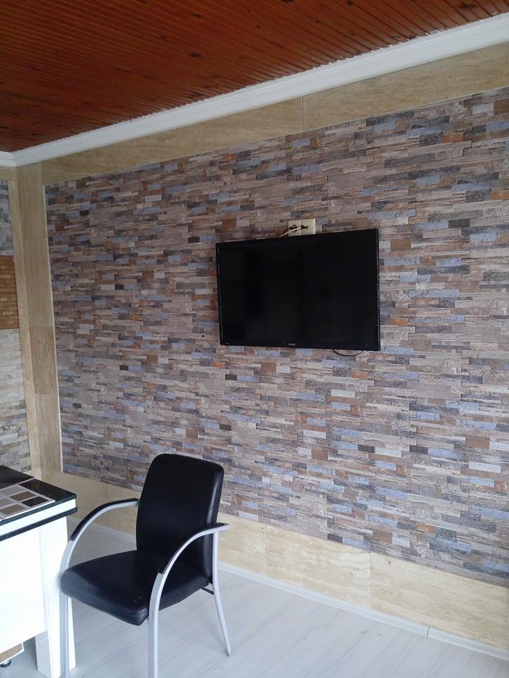 Televizyon arkası duvar kaplama