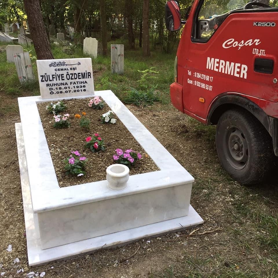 Tekli Mermer Mezar İmalatı