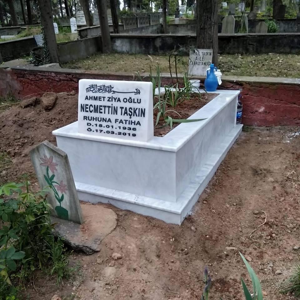Tekli Mermer Mezar İmalatı 2