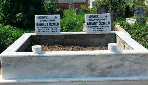 Çift Kişilik Mermer Mezar