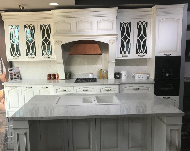 Bembeyaz Mutfak Tezgahı ve Granit Evye